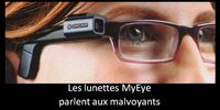 Lunette electronique MyEye