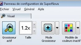 Supernova basse vision informatique